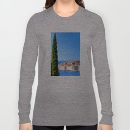 Croatia Treescape Long Sleeve T-shirt