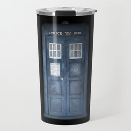The Tardis Travel Mug