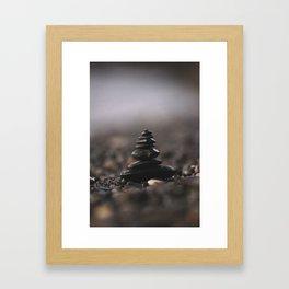 ZEN STACK Framed Art Print