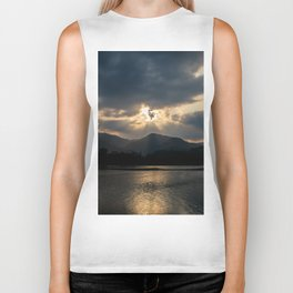 Shining Eye on the Sky Biker Tank