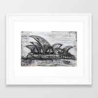 sydney Framed Art Prints featuring Sydney by sladja