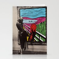 scream Stationery Cards featuring Scream by Canson City