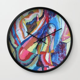 Trapped in Time Wall Clock