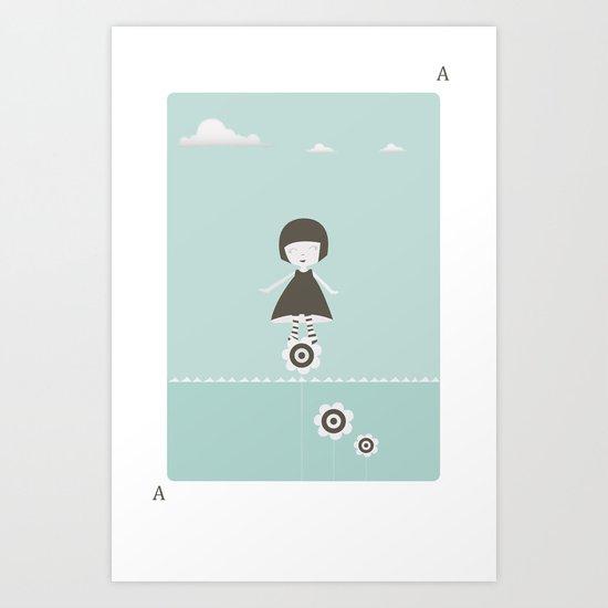 Little children Art Print