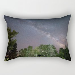 The Milky Way in Northern Ontario Rectangular Pillow