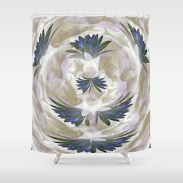 Lilies in the Round Shower Curtain