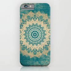 GOLD BOHOCHIC MANDALA IN GREENS Slim Case iPhone 6s