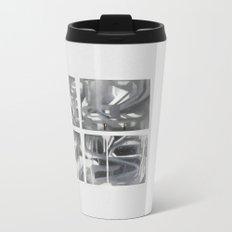Fade 2 Grey Metal Travel Mug