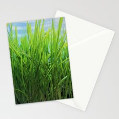 Wheat Grass in Motion Stationery Cards