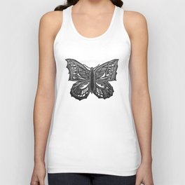 The Beauty in You - Butterfly #2 #drawing #decor #art #society6 Unisex Tank Top