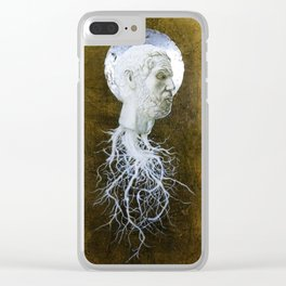 """""""The End of Reason"""" Clear iPhone Case"""