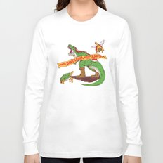 When Dinosaurs ruled the earth Long Sleeve T-shirt