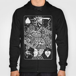 Death & Devil - Jack of Spades Card - The wages of sin is death (for Vito) Hoody