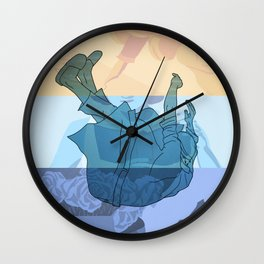 The Hours Wall Clock