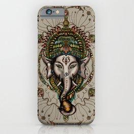 Lord Ganesha - Canvas Lord Ganesha - Canvas iPhone Case