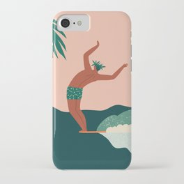 Go with a flow iPhone Case