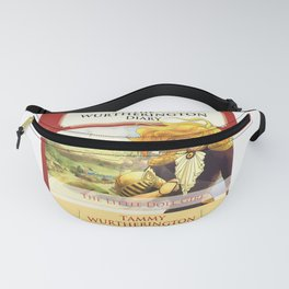 The Little Doll Girl: Cover Fanny Pack