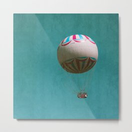 You Blow Me Away - Hot Air Balloon Metal Print