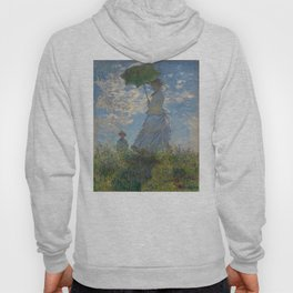 Claude Monet - Woman With A Parasol Hoody