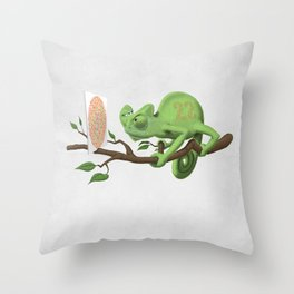 Can't See It Myself (Wordless) Throw Pillow