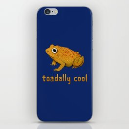 Toadally Cool Psychedelic Toad iPhone Skin