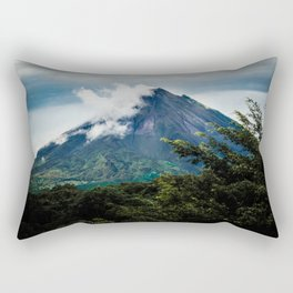 Arenal Volcano Rectangular Pillow