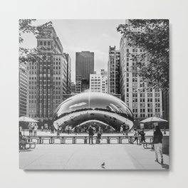 Chicago Cloud Gate / The Beam Metal Print