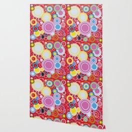 Pop Art Colour Circles Wallpaper