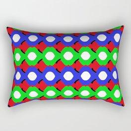 bubbles wrapped 3 Rectangular Pillow