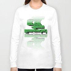 Psalms 23:1 - 3d  Long Sleeve T-shirt