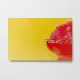 Strawberry Margherita Metal Print