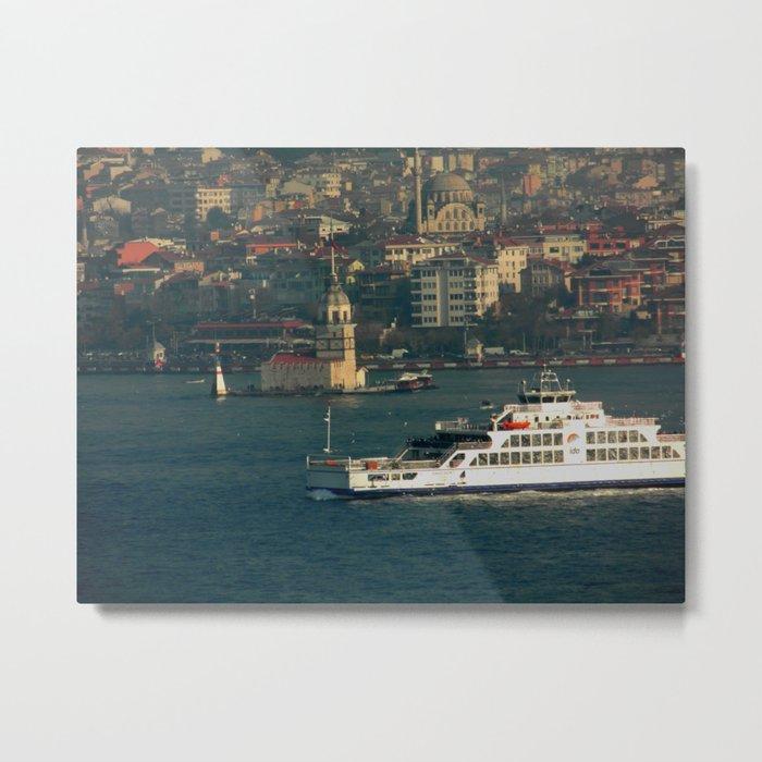 Anatolian Istanbul Metal Print