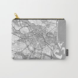 Valencia Map Line Carry-All Pouch