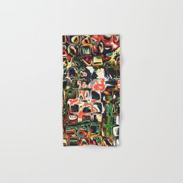 Abstract Blocks of Color Hand & Bath Towel