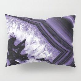 Ultra Violet Agate Chic #1 #gem #decor #art #society6 Pillow Sham