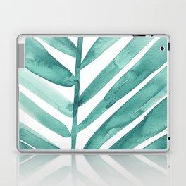 Green Palm Leaf Crop Laptop & iPad Skin