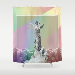 Positive State of Mind Shower Curtain