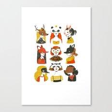 The Masquerade Canvas Print