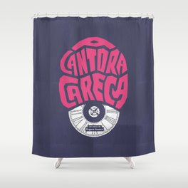 A Cantora Careca (La Cantatrice chauve) Shower Curtain