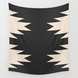 Minimal Southwestern - Charcoal Wall Tapestry