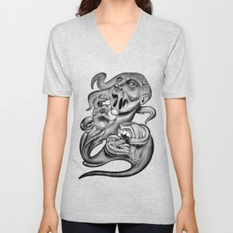 From my mouth Unisex V-Neck