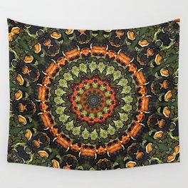 Citrus Infused Mandala Wall Tapestry