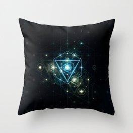 Timeblind Throw Pillow