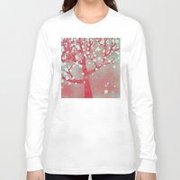 blossom Long Sleeve T-shirts featuring Blossom by Nic Squirrell