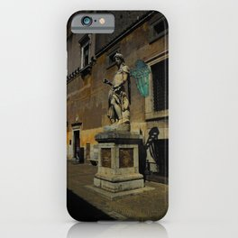 Statue of Archangel Michael, Rome, Italy iPhone Case