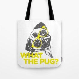 Smart Pug Tote Bag