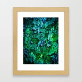 Underwater Wood 2 Framed Art Print