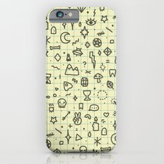 Doodles Pattern iPhone 6 Slim Case