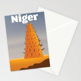 Niger Agadez Mosque Stationery Cards