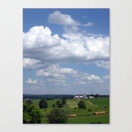 Wisconsin Farmland Canvas Print